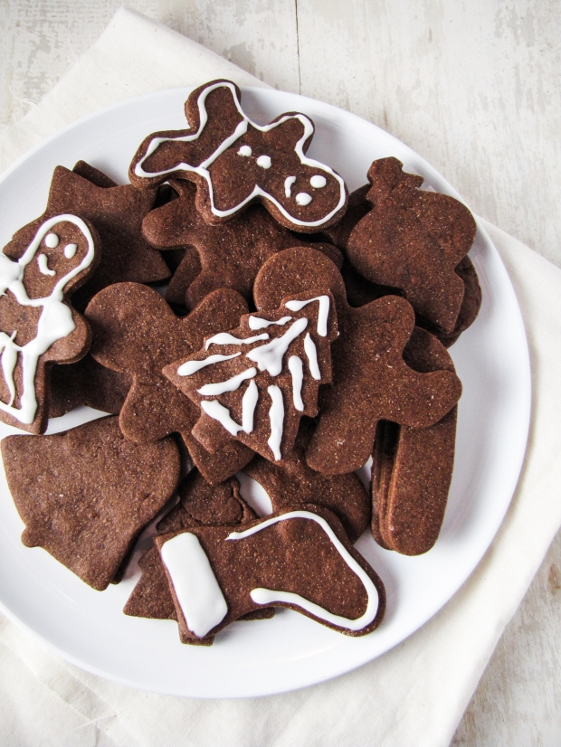 Chocolate Cut-Out Cookies {Katie at the Kitchen Door}
