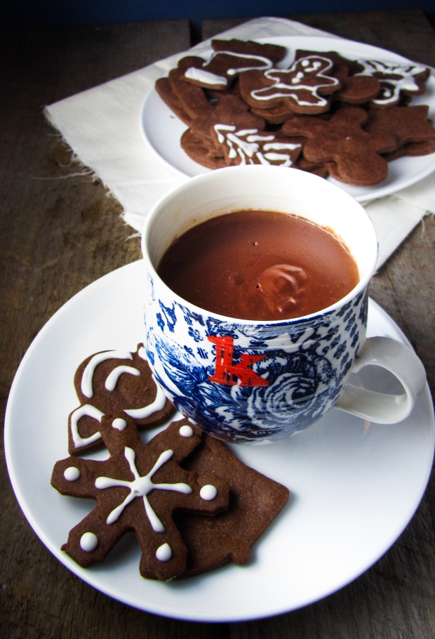 European Style Hot Chocolate {Katie at the Kitchen Door}
