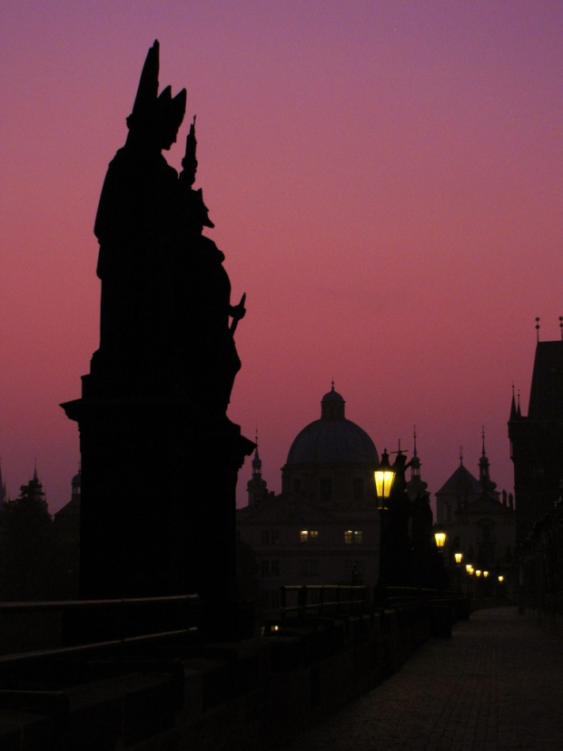 Sunrise at Charles Bridge