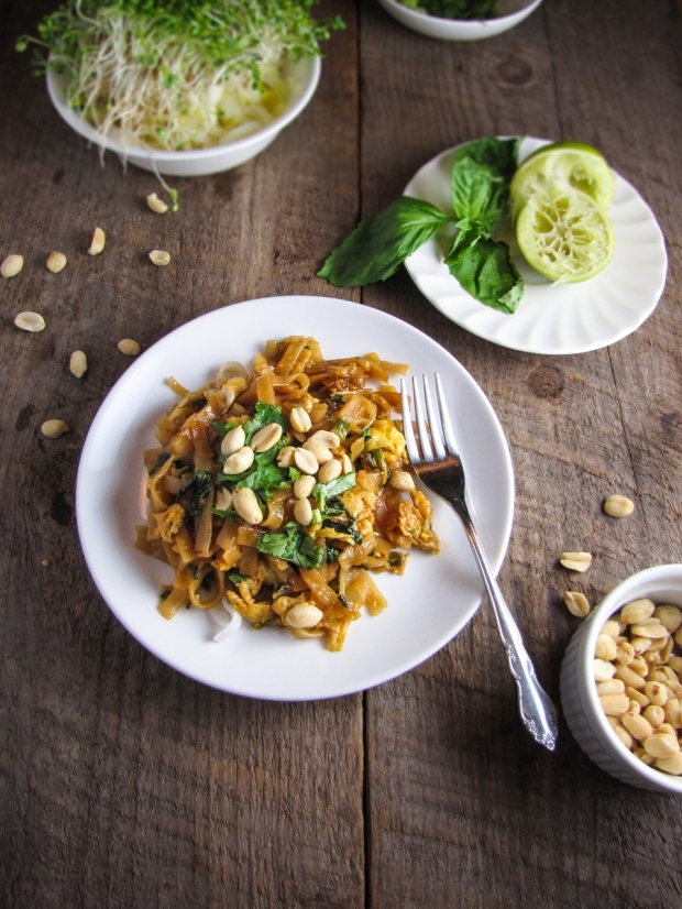 Pad Thai Taste Test (3 Recipes) via Katie at the Kitchen Door