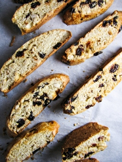 Cherry-Hazelnut Biscotti {Katie at the Kitchen Door}