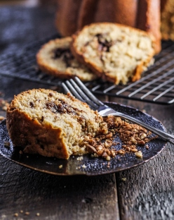 Pecan Toffee Coffee Cake {Katie at the Kitchen Door}